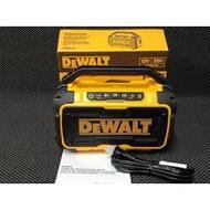 {專營工具}全新 DEWALT DCR010 音響 得偉音響 音箱 揚聲器 工地音響