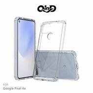 強尼拍賣~QinD Google Pixel 4a 雙料保護套 透明殼 硬殼 背蓋式