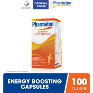 Pharmaton Multivitamin Capsule for energy, stamina with multivitamin mineral 100s