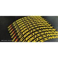 🔥🔥🔥Mavic Crossmax MTB wheelset decal sticker