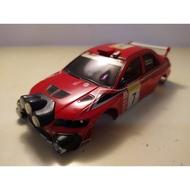 Kyosho MINI-Z MITSUBISHI LANCER EVO 7 WRC拉力車殼附燈具