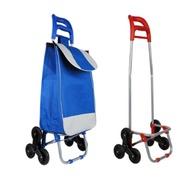 爬樓梯折疊購物車 可爬梯菜籃車 360度手推車 買菜車(限宅)【DF120】