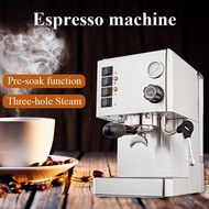 เครื่องชงกาแฟกึ่งอัตโนมัติ15บาร์,เครื่องตีฟองนมเครื่องทำเอสเพรสโซ่ลาเต้ที่บ้านเครื่องชงเอสเพรสโซ