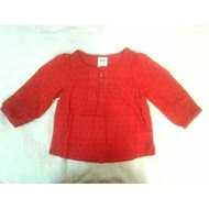 Baju Baby Girl new Padini Miki blouse red 0 - 6 Month