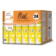【春風】超細柔抽取式衛生紙110抽x24包x3串x2箱