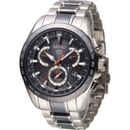 SEIKO ASTRON GPS 太陽能衛星電波腕錶 8X53-0AB0D