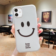 Smiley Case for Realme Narzo 20 30A 5 5i 6i C3 C11 C12 C15 6Pro 5Pro Phone Case Shockproof Case for OPPO A5S A3S A5/A9 2020 A31 A53 A15S A92 Cases VIVO Y11 Y12 Y15 Y17 Y20i Y30i Y12S Y31 Case Huawei Nova 3i 7i Y7A Y6P Y7 2019 Back Cover Samsung A50 A10