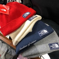 The north face 毛帽