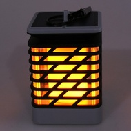 太陽能火焰壁燈【SG128】戶外防水草坪火把燈led壁燈庭院火焰燈景觀燈KIM居家必備