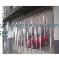 【全場免運】陽臺擋風佈防雨帆布pvc薄膜遮雨防水塑膠軟膠膜篷布塑膠透明擋雨