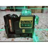 Dewalt 德偉 得偉 綠光 雷射水平儀 DW089L 12V 360度12線