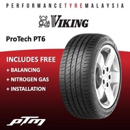[NEW] Viking ProTech PT6 14 15 16 17 18 inch Tyre (FREE INSTALLATION) 195/70R14 185/55R15 195/50R15 195/55R15 215/60R16 205/45R17 215/45R17 215/50R17 215/55R17 225/40R18 225/45R18 225/65R17 235/60R18