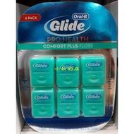 【小如的店】COSTCO好市多代購~ORAL-B 歐樂B Glide 清潔舒適牙線-薄荷口味(40公尺*6入)