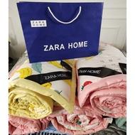 當當日用家居 zara home 爆款西班牙ZARA 夏涼被 水洗棉夏被 空調被可機洗 蠶絲薄被子 可機洗薄被子禮品被