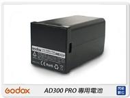 【指定銀行贈點數,最高500點】GODOX 神牛 WB300P 專用電池 鋰電池 適用 AD300 PRO(公司貨)