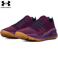 【UNDER ARMOUR】男 Curry 4 Low籃球鞋 紫紅