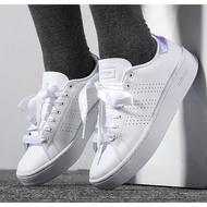正品 adidas 愛迪達 advantage clean Cloudfoam  白鞋 女 休閒鞋 厚底 繃帶鞋