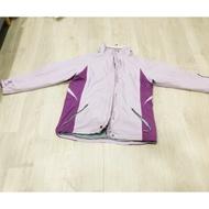 Atunas 歐都納 正牌 二手 Gore-Tex 紫 兩件式 防風防水 外套