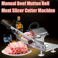 Adjustable Manual Meat for Korean Samgyupsal (Frozen meat slicer,  Beef mutton, Sheet roll , Cleavers cutter)