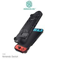 貼心條孔風道散熱凹槽!!強尼拍賣~NILLKIN Nintendo Switch 戰甲保護套