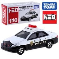大賀屋 TOMICA No.110 豐田 皇冠 警車 多美 小汽車 車子 汽車 模型 Tomy L00010174