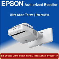 [Local Warranty] Epson EB-695Wi Ultra-Short Throw Interactive WXGA 3LCD Projector