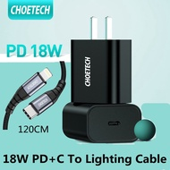 [Ready] CHOETECH USB C Charger 18W Power Delivery Type C Wall Charger iPhone 11/11 Pro XS Max/XR 8 iPad Pro