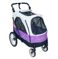 PETSTRO沛德奧.寵物推車【703GX 銀翼系列-紫色】