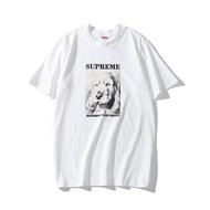 Supreme_men/ผู้หญิงเสื้อยืดผ้าคอตตอนแท้1901