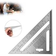 【限量下殺】角度尺 測量工具  7寸 鋁合金三角尺 量尺器 木工三角尺 木工角度尺
