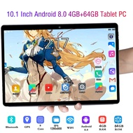 10.1 Inch Tablet Android 8.0 Octa Core 4GB RAM + 64GB ROM Dual Camera SIM Tablet PC Wifi GPS 3G Call Bluetooth Tablets