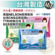 現貨。台灣製 藍鷹牌NP-3DS 2-6/6-10 幼童/兒童 3D立體口罩 50片販售區-粉紅色/藍色