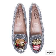 Chiara Ferragni 漢堡/薯條 平底娃娃鞋