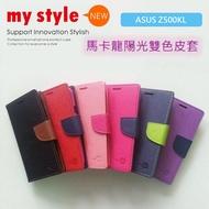 華碩 ASUS ZenPad 3S 10 Z500KL 陽光雙色磁扣側掀皮套 馬卡龍 平板書本式保護套