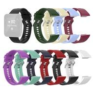 新軟矽膠更換錶帶佩戴腕帶的Garmin forerunner35 / 30