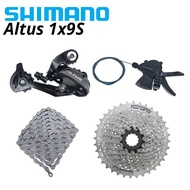 SHIMANO Altus M2000 M370 1x9 Speed Groupset MTB Mountain Bike Shift Lever Rear Dearilleur Cassette C