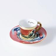 Luycho 韓國 鏡面倒影杯 咖啡杯 (濃縮款、小款) _ 神奈川沖浪裏 (致敬)