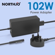 [Surface Adapter] Surface Pro Charger NORTHJO 102W 15V 6.33A Power Supply adapter for New Microsoft Surface Pro X 3 4 5 6 7 Surface Go Book Laptop 1 2 3