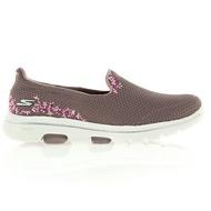 Shoestw【15945MVE】SKECHERS GO WALK 5 SWEET  健走鞋  刺繡 紫色 女生