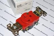 美國 COOPER 8410RD 20A 250V NEMA 6-20 (SINGLE型) 紅色單孔單聯醫療級插座