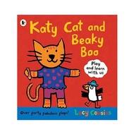 英國 Walker Books Katy Cat And Beaky Boo Katy 貓和大嘴鳥Boo 平裝繪本