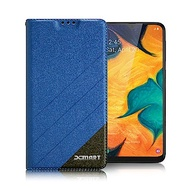 Xmart for Samsung Galaxy A40s 完美拼色磁扣皮套