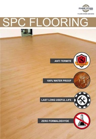FLOORING SPC 4MM SAKURA TEAK - 8810