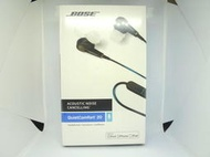 售完 全新盒裝 Bose QC20 黑色apple/android 抗噪耳道耳機 QuietComfort 20