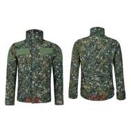 《 A-Li》 防水透氣 國軍 數位迷彩 外套 軟殼衣 鯊魚皮