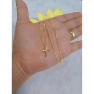 10k sd gold necklace