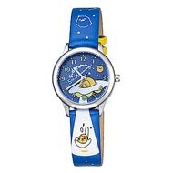 HELLO KITTY 蛋黃哥 五週年紀念手錶-藍 /30mm