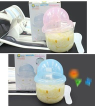 Baby Glass Steaming Bowl Multifunctional Microwave Oven Infant Special Steaming Bowl