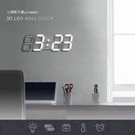 3D LED立體數字鐘 (大款) 電子鬧鐘 牆面立體掛鐘 LED時鐘 LED掛鐘 數字鐘 掛牆鐘 電子時鐘 當你沉睡時