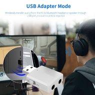 【Happylife】USB bluetooth 5.0 Transmitter Receiver Stereo Audio Adapter AUX 3.5mm TV CAR PC-HP